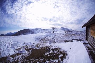 霊仙山登山