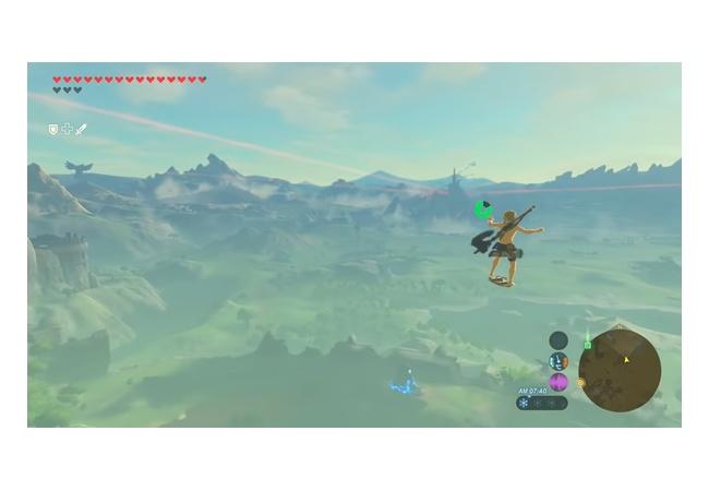 【動画】ゼルダbotw、超高速で吹っ飛ぶバグが見つかるwwwwwww