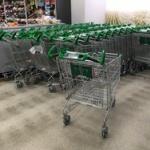 スーパーのカートにのって遊んでる奴らに注意した結果・・・