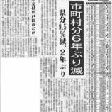 『(埼玉新聞)2013年度交付税 不交付は戸田市だけ』の画像