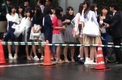 『欅坂メンバーが乃木坂神宮ライブで目撃されるもお披露目はならず』の画像