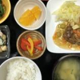 『今日の桜町昼食(春野菜ハンバーグ)』の画像