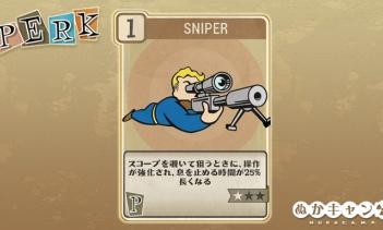 Fallout 76:Sniper(Perception)