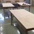 生活工芸室の作業机の対応