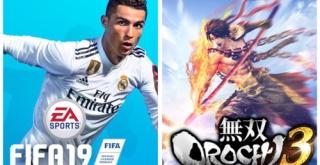 【ゲーム売上】PS4/Switch『無双OROCHI3』『FIFA19』の機種別の売上、『DBファイターズ』『戦ヴァル4』のスイッチ版の売上が公開!