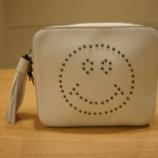 『AURORA PRESTIGE(オーロラプレステージ)タッセル付きスマイリーモチーフバッグ』の画像