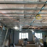 『天井断熱材の検査とフローリング【着工68日目】』の画像