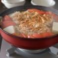 トマトキムチ風鍋。【キムチがない時のキムチ風味鍋】お米屋さんおすすめの新米実食。