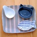 『セリアの小鉢に益子の器を合わせてみる』の画像