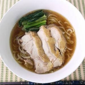 スープから作る♪鶏醤油ラーメン