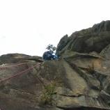 『比叡山・ニードル左岩稜』の画像