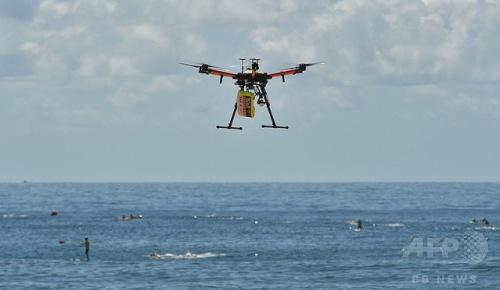 世界初か、ドローンが波にさらわれた少年2人の救助に成功、オーストラリア【海外の反応】