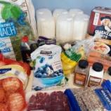 『四月の食料品購入まとめ』の画像