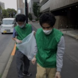 『【早稲田】清掃活動』の画像