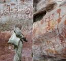 アマゾンの熱帯雨林に全長12キロにもなる1万2000年前の壁画が発見される! 古代のバンクシーだよな
