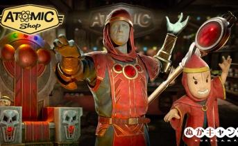 【アトミックショップ】ハブリス・コミックプレゼンツ、混沌と破壊の魔術師グレロックをテーマにしたアイテムが配信開始!