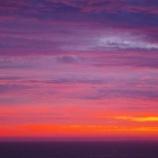 『海辺の夕日』の画像
