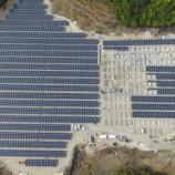 『山口太陽光発電所建設中』の画像