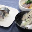 脂乗っています。「鯖のさばき教室」そして、炙り棒寿司・・旨し!