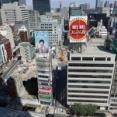 地上51階、高さ250m「東京駅前八重洲一丁目東B地区第一種市街地再開発事業」の既存ビル解体状況(2021.7.22)