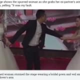 まんさん、元彼の結婚式にウェディングドレスで乱入し新妻の記憶にトラウマを植え付ける事に大成功。(※動画あり)