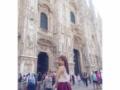 【画像あり】イタリアのミラノをミニスカで歩く女子高生起業家の椎木里佳さん(17)をご覧下さい