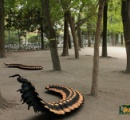 体長約20センチ、大型ムカデの新種を沖縄で発見。「リュウジンオオムカデ」と命名
