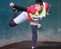 【阪神】ドラフト4位・斎藤 ブルペンでスライダー解禁「感触としては悪くなかった」