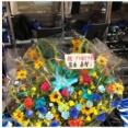 DeNA益子、筒香から初ヒットお祝いの花束が届く!!!