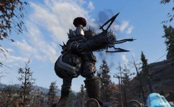 Fallout 76:高火力ドリルビルド(バッシャー・シュレッダーミニガン)