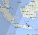 【速報】インドネシア発エアアジア機 連絡絶つ