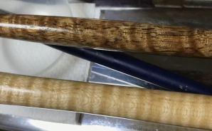 マンゴーの木で作られたペン