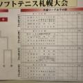 ◆札幌国際インドア開幕!!◆《無観客試合》