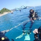 『タオ島 ダイビング 海で実技講習!』の画像