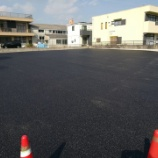『愛知県刈谷市 日本圧造(株)様 駐車場 アスファルト舗装工事の施工』の画像