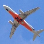 飛行機を見て興奮するド変態wwwww