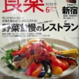 『雑誌サライ、食楽でレシピ本を紹介していただきました』の画像