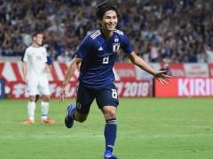 【 速報動画 】日本代表、先制!南野が中島からのパスを受け見事なゴール!1-0!!