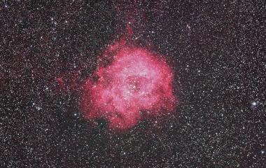 『いっかくじゅう座の薔薇星雲(NGC2237-9、NGC2248)』の画像