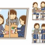 『【クリップアート】女子中学生のイラスト(お弁当・自習・屋上)』の画像