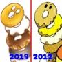 beforeafter★2012年→2019年の絵を比較!「ドーナツ」