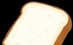 無心にパンを