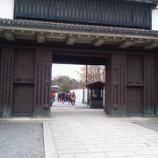 『【新婚旅行】「二条城」を観光』の画像