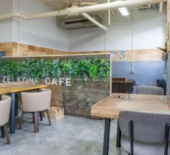 アクティブスクウェア・大東につくってたフレンチバル「ZELKOVA CAFE」がオープンしてる