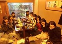 田中美久「出番前の空き時間にこのメンバーでご飯食べました」