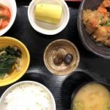 『今日の桜町昼食(鶏唐揚げのおろし煮)』の画像