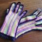 №150-2 オランジュ(プロバンスシリーズ)でかぎ編み手袋 2
