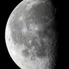 『久し振りのお月様(月齢21.6)』の画像