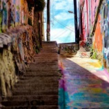 『落書きだらけの世界遺産!チリ「バルパライソ」の街並みがカラフルで可愛い』の画像