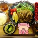 【おかう食堂】焼肉定食
